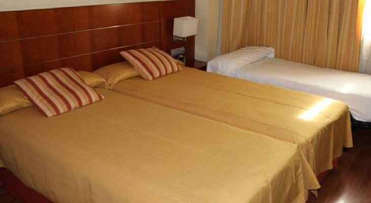 This hotel in Madrid offers you spacious soundproofed rooms, decorated ...
